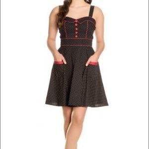 Hell Bunny Vanity mini dress
